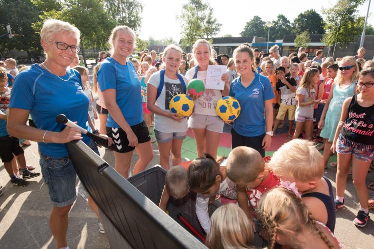 Junior Coaches met Sportservice